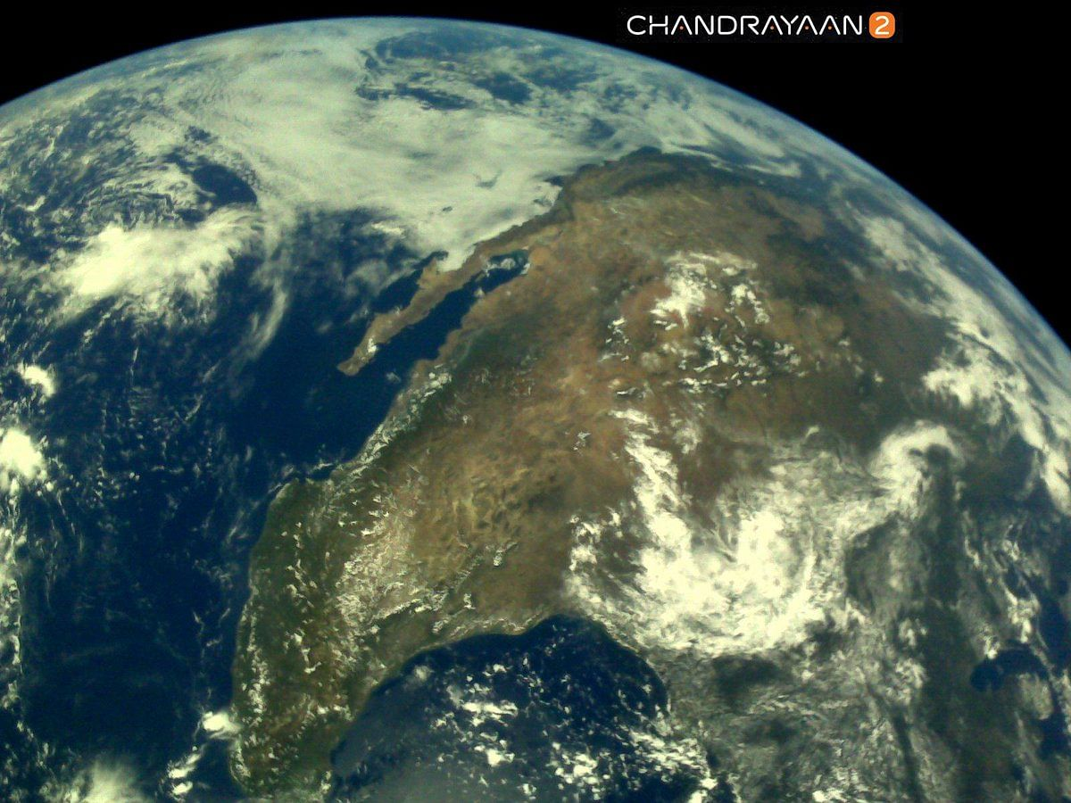 PHOTOS: First set of images of Earth captured by Chandrayaan 2