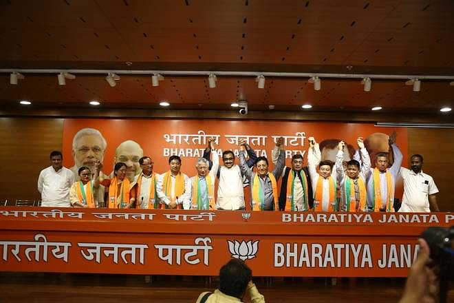 Although BJP leader Ram Madhav recently said the party will play the role of opposition in Sikkim, the saffron party is thinking beyond that, said sources