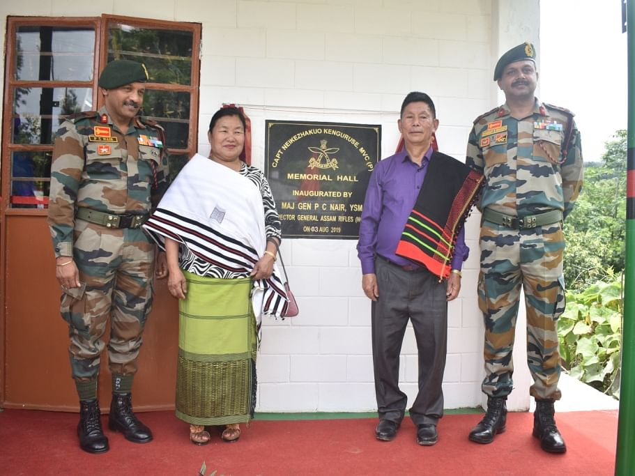 Naga martyr Capt N Kenguruse remembered on 20th Kargil Vijay Diwas