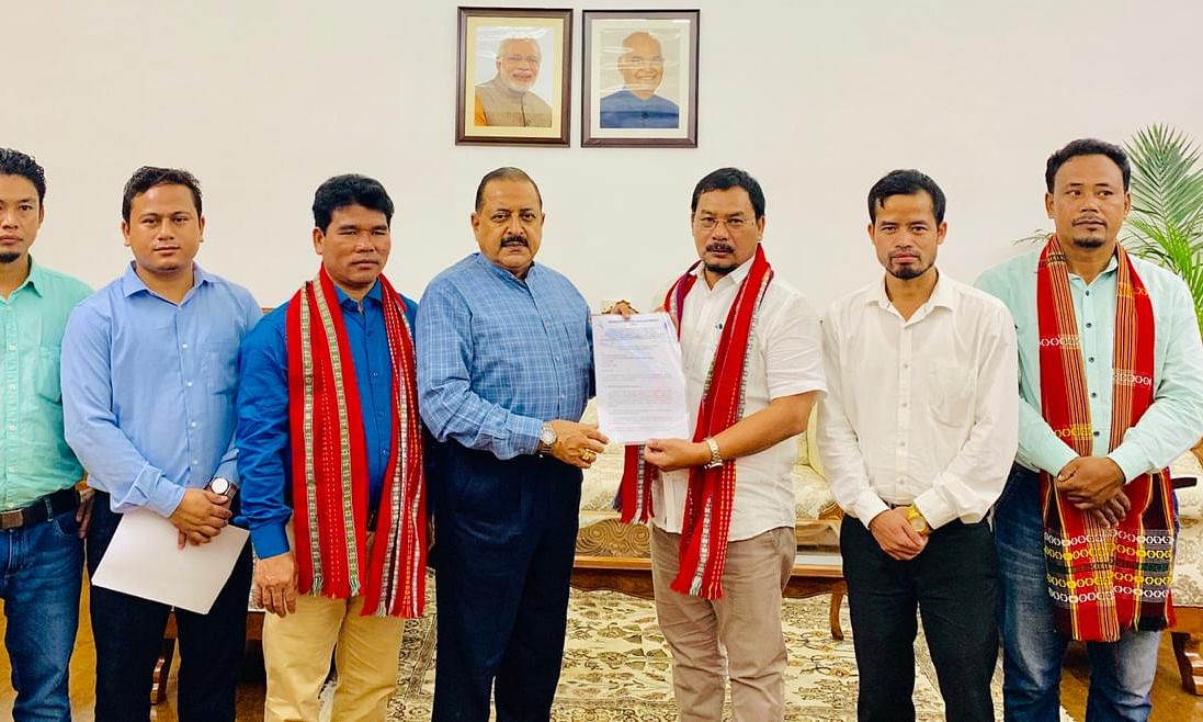 DoNER minister Jitendra Singh assures to consider IPFT's demands