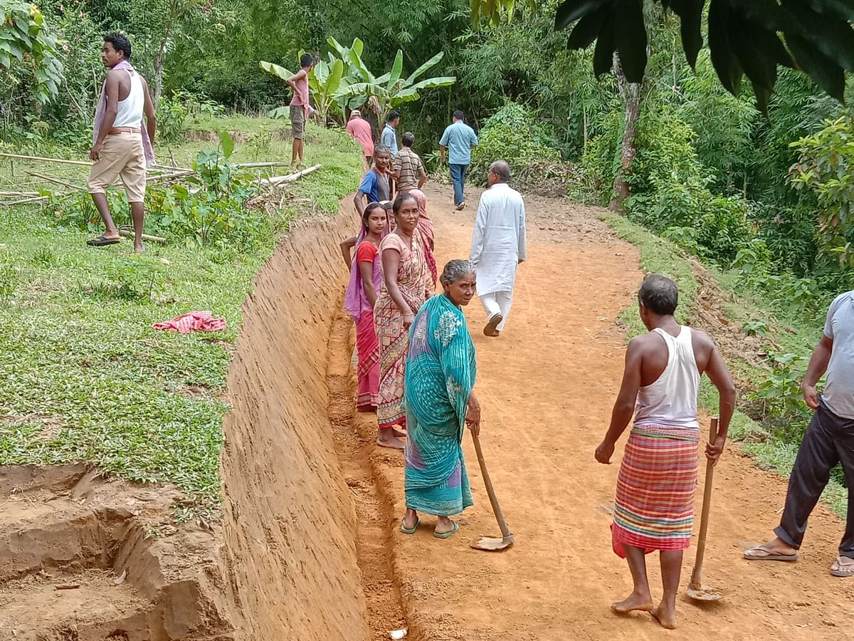 Tripura: For a 2-km road, Singinala villagers waited for 25 years
