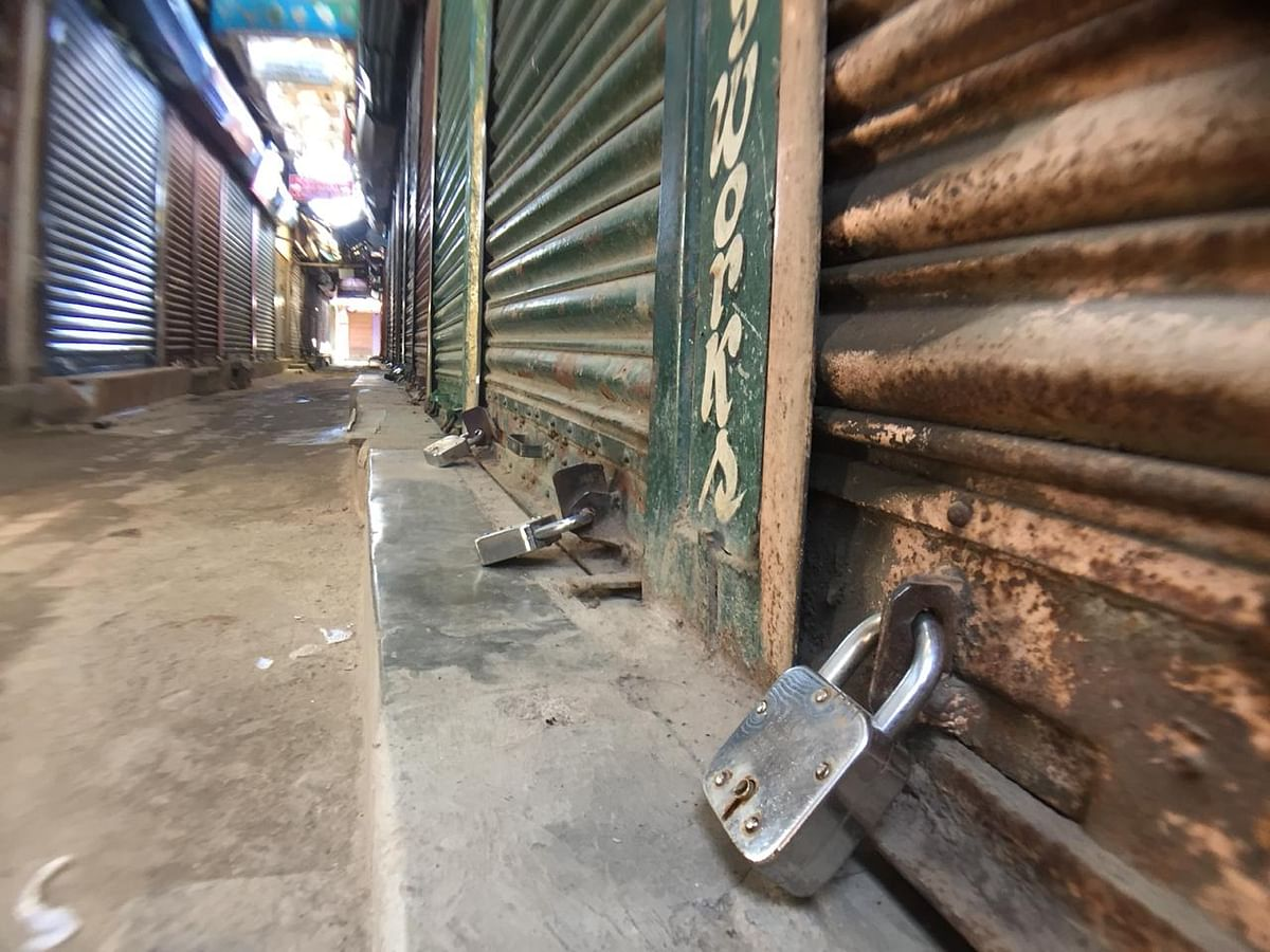 Business establishments were closed during the bandh