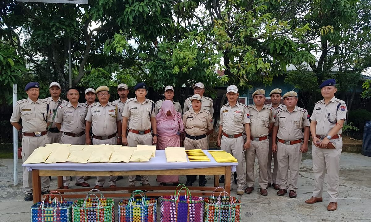 Manipur:  Woman nabbed with contraband worth Rs 41.6 lakh