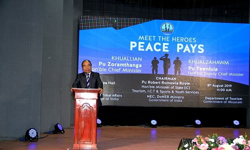 144 Mizo heroes honoured at 'Meet the Heroes: Peace Pays' meet