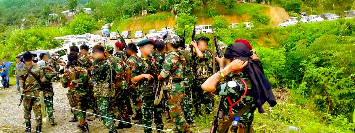 A self-styled defence 'kilonser' NSCN(R) was allegedly shot at by rebels belonging to NSCN(IM) at his residence in Dimapur, Nagaland on August 20
