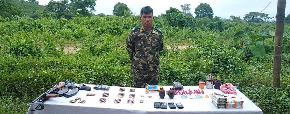 Puman Wangshu, prime accused of the case who is also a self-styled sergeant major of the NSCN (IM)