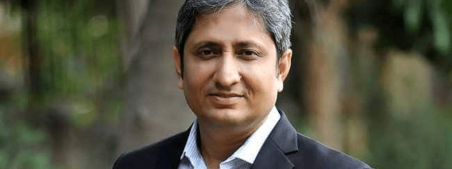 Ravish Kumar, 44, is currently working as NDTV India's senior executive editor