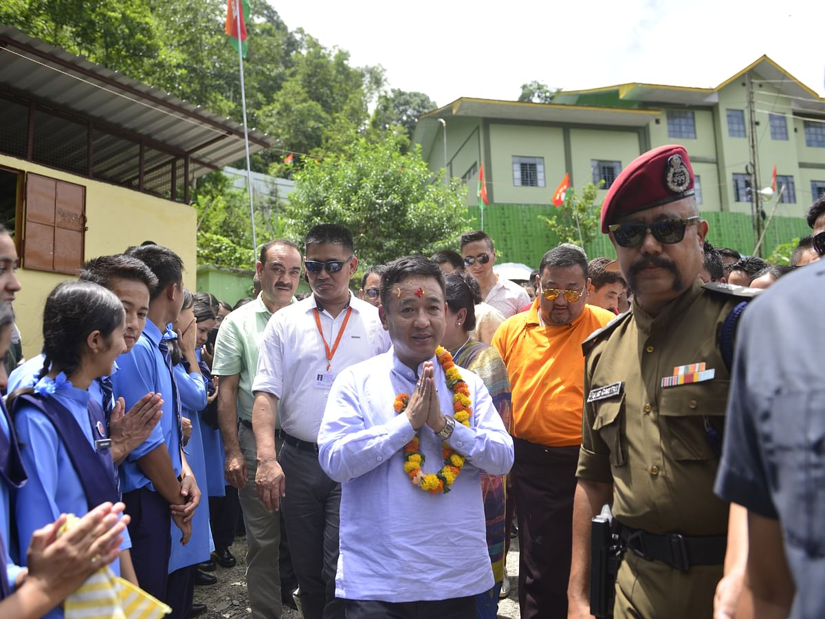 Sikkim CM terms ensuing by-polls  penalty shootout for development