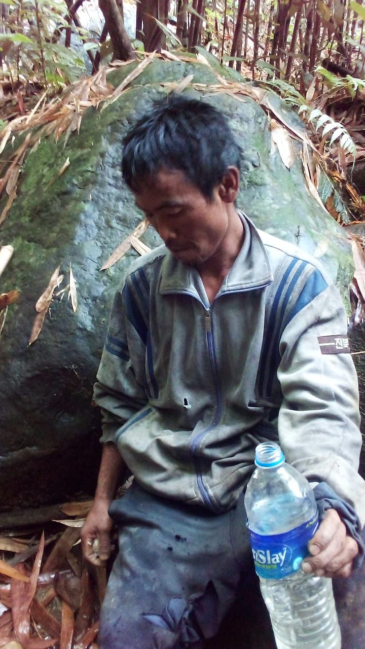 Mizoram villager H Lalramliana was alone standing near a cliff, when the bear attacked him in Tawipui North II of Lunglei district on Saturday