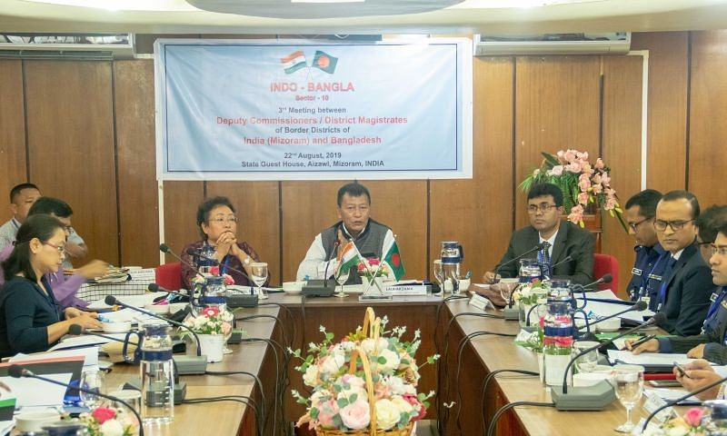 Mizoram: Indo-Bangla joint conference held in Aizawl