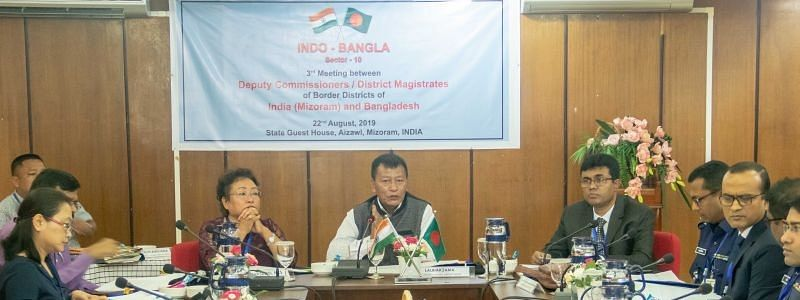 The third Indo-Bangla joint conference held in Aizawl, Mizoram on Thursday