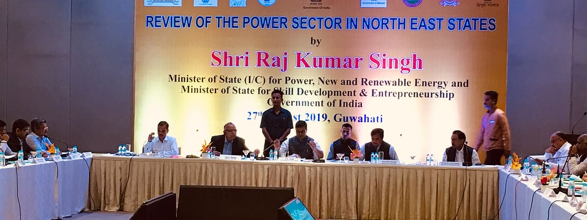 The meeting was attended by power ministry officials and representatives of discoms