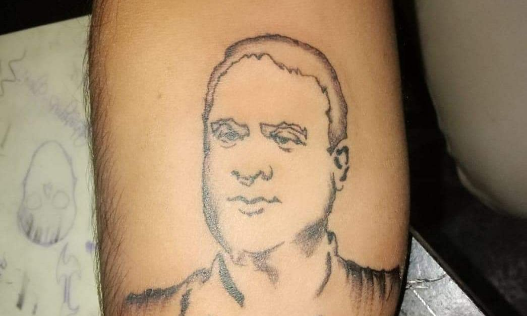 Fan forever: Assam youth gets minister Himanta tattooed on forearm