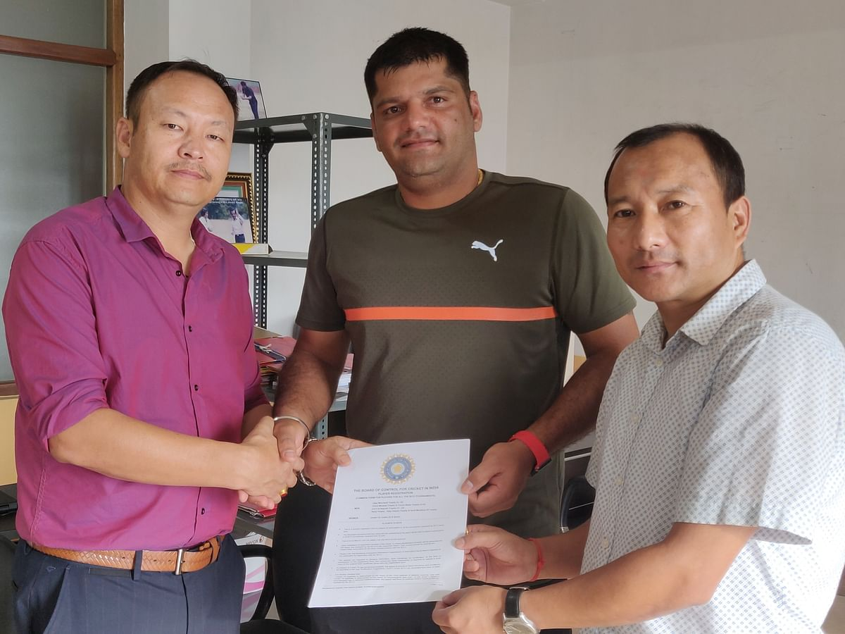 Cricketer Yashpal Singh to do Sikkim duty in upcoming season
