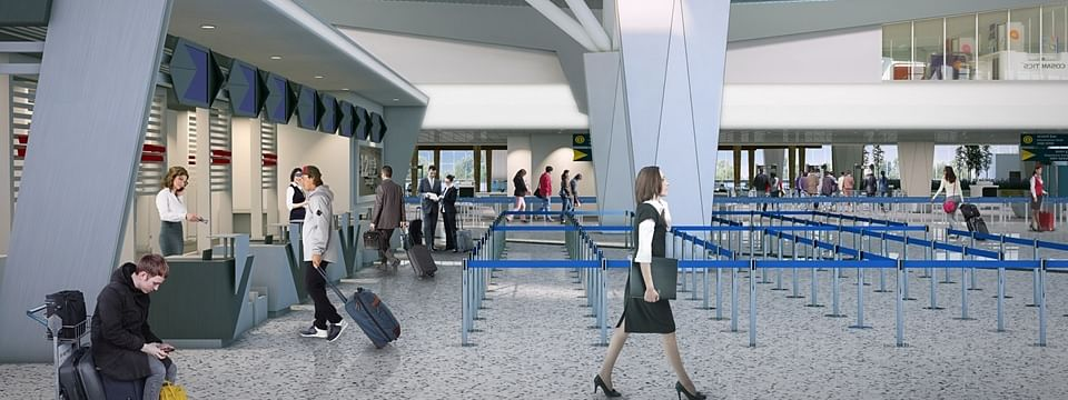 A Rs 500-crore project is also going on to upgrade Maharaja Bir Bikram Airport in Agartala, Tripura