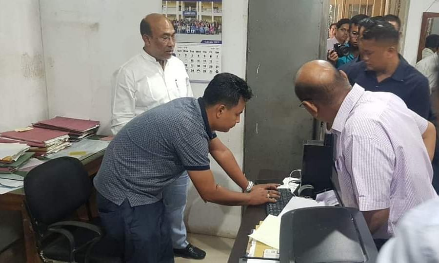 Manipur: In surprise check, 223 govt staff found absent from work