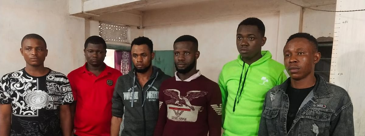 The arrested foreign nationals flew from Africa to Bangladesh and sneaked into India illegally