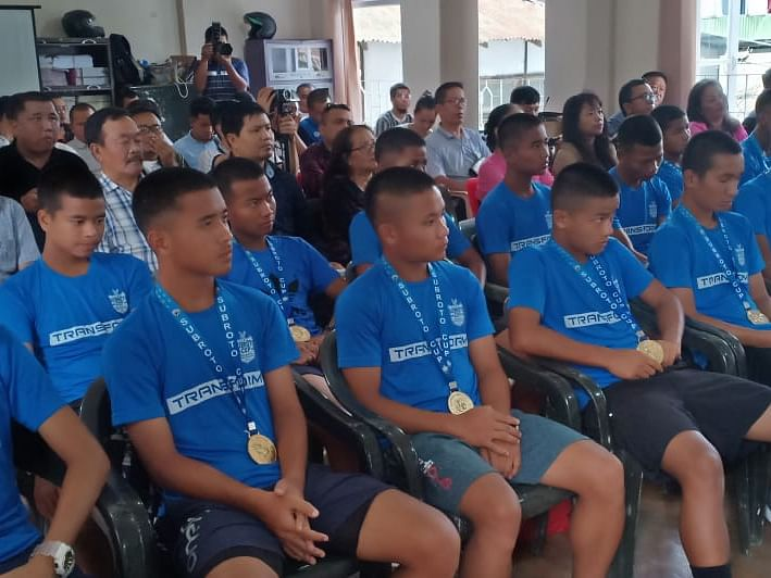 Meet Team Mizoram, champions of this year's sub-junior Subroto Cup
