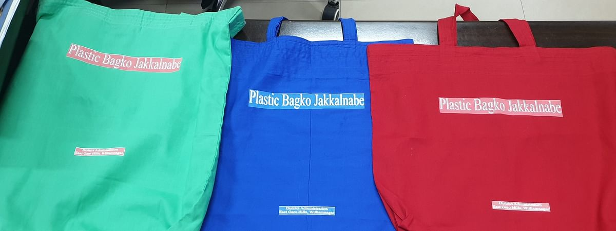 Locally-manufactured cloth bags will soon replace plastic in Meghalaya's East Garo Hills district