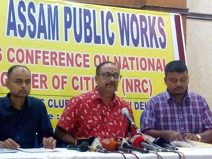 Assam Public Works skeptical of human rights groups on NRC