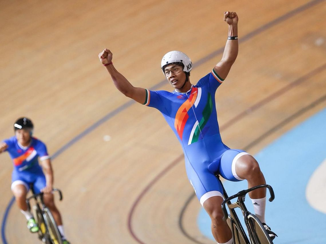 This Ronaldo from Manipur is a cyclist, a Track Asia Cup star