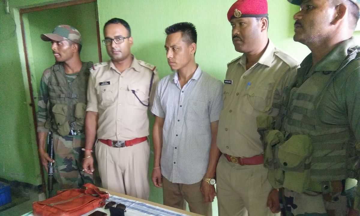 Assam: Suspected PDCK militant held in Karbi Anglong