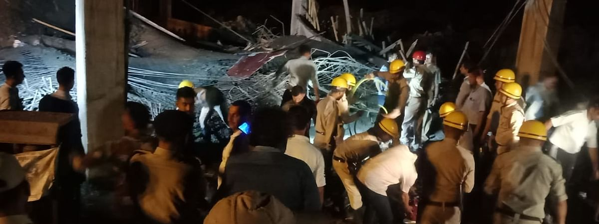 As per reports, about 50 workers were at the site when the incident happened