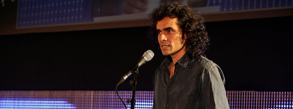 Filmmaker Imtiaz Ali address a gathering