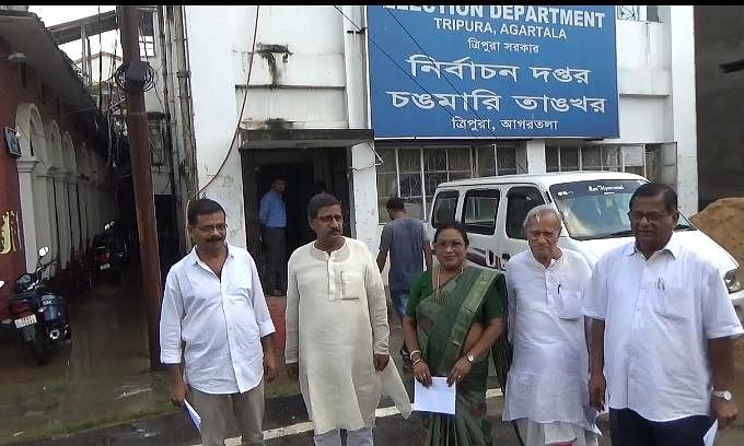 Tripura: Left Front demands 100% webcasting in by-elections