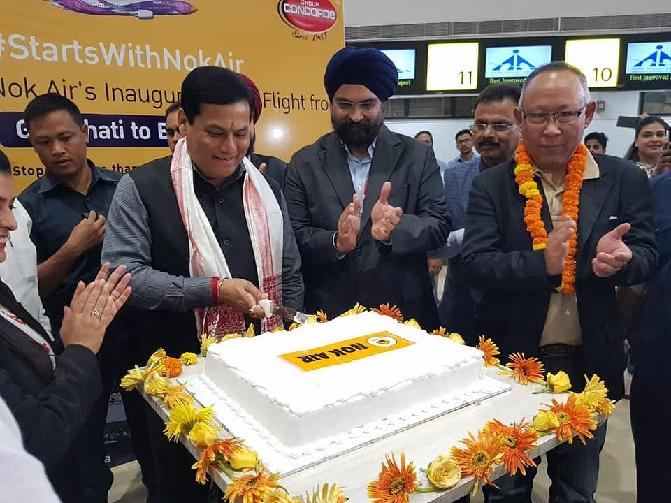 Nok Air is the first international carrier with a direct flight to Bangkok from Guwahati