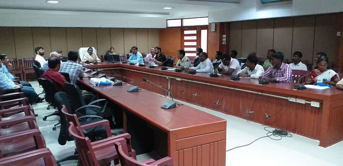 The meeting that was held at the DC conference hall in Jorhat, Assam on Wednesday