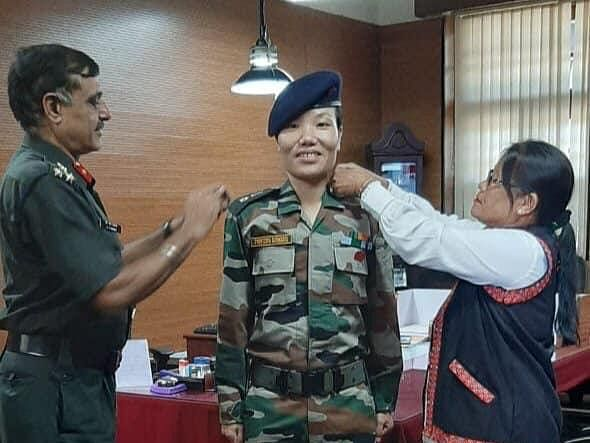 Meet Ponung Doming, Arunachal's first woman Lieutenant Colonel