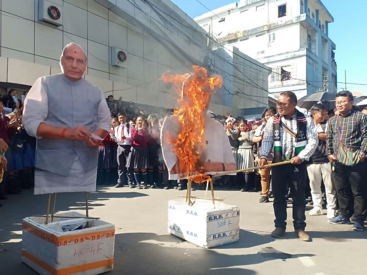 Amit Shah's visit to Mizoram: BJP appeals NGO to cancel protests