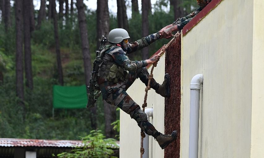 Maitree 2019: Troops enhance drill in counter-terrorism operations