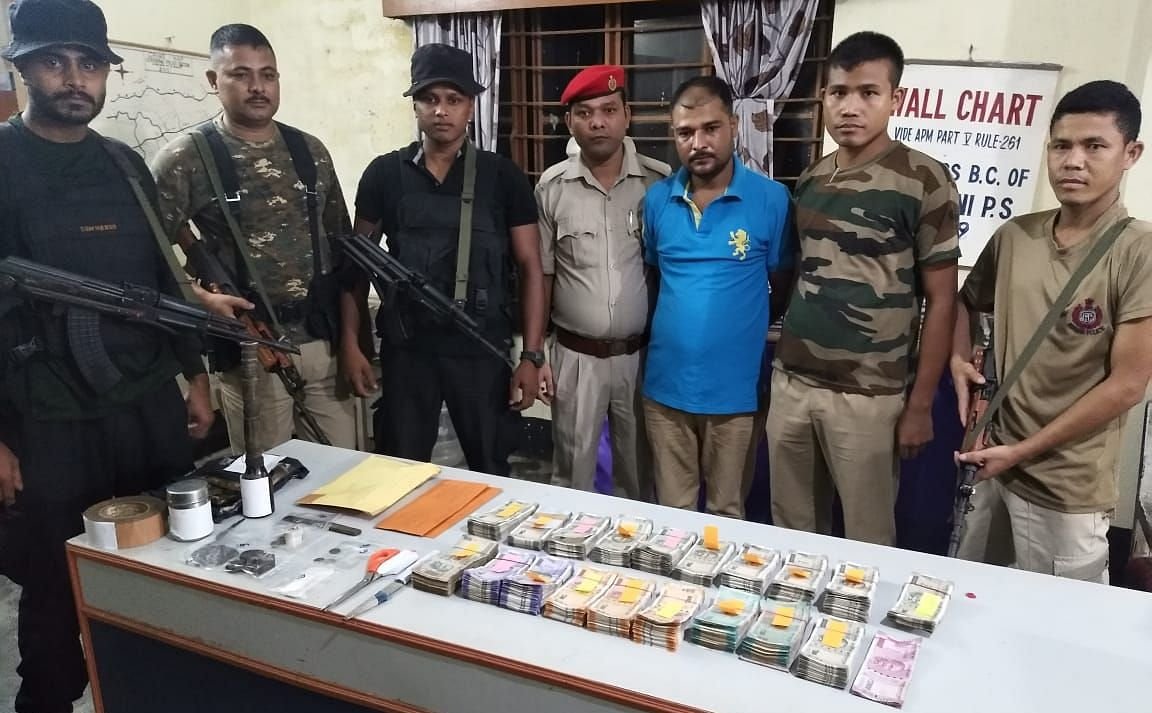 Of the six arrested rebels, three belong to Kokrajhar district while the other three are from Chirang district