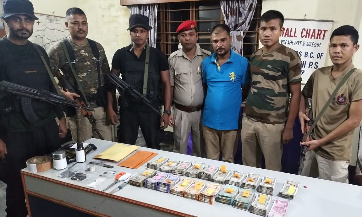 Assam: Drug peddler held with 443 gm opium, Rs 6.6 lakh cash