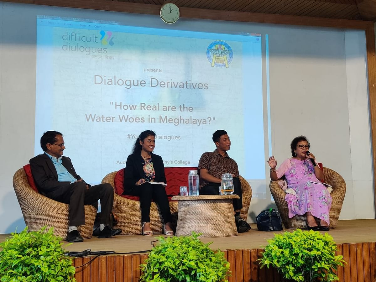 Meghalaya experts express concern over state's water woes