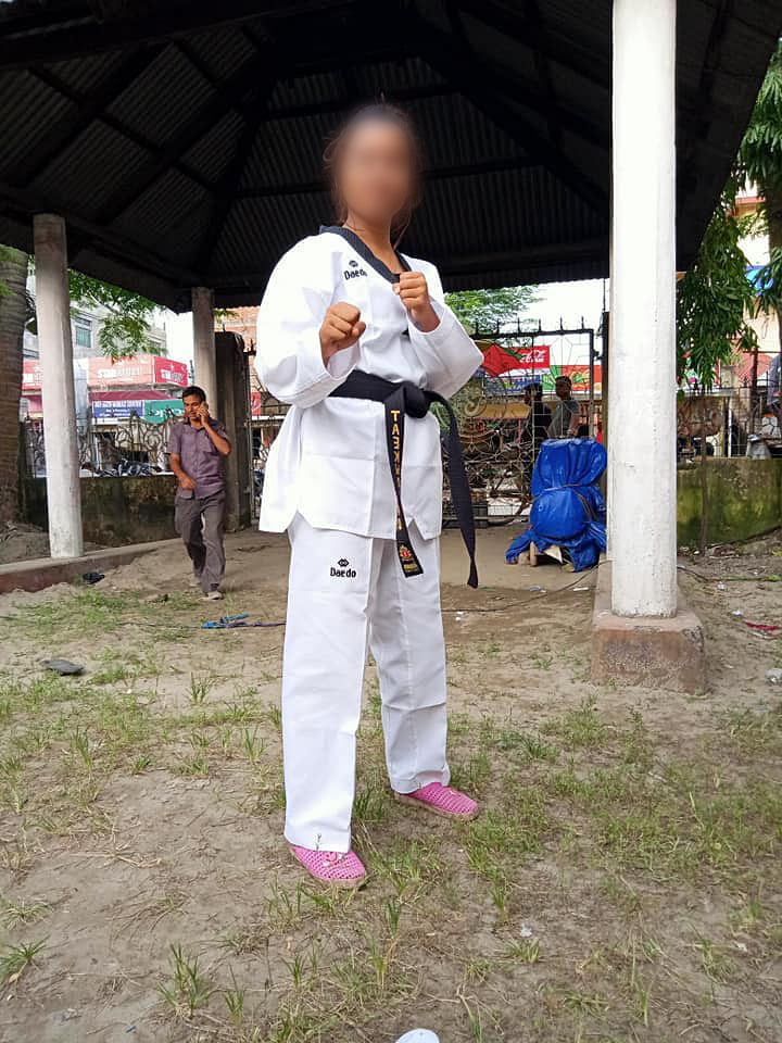 The deceased was also a taekwondo player and a gold medalist in weightlifting