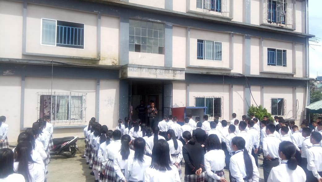 Six schools in Aizawl, Mizoram participated where students pledged to marry only within their community