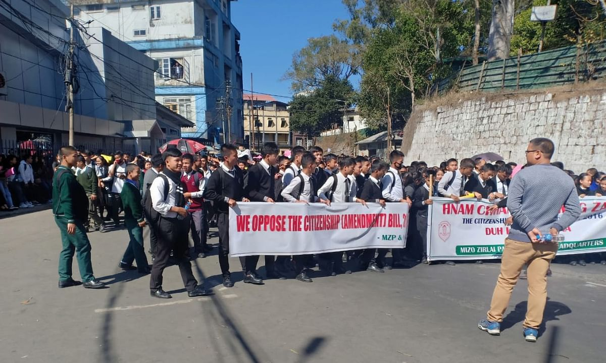 Mizo students pledge to intensify protests over Citizenship Bill
