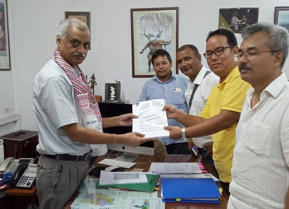 A delegation of Bharatiya Gorkha Parisangha called on joint secretary (NE), ministry of home affairs, Satyendra Garg, in New Delhi to press for their demands relating to NRC