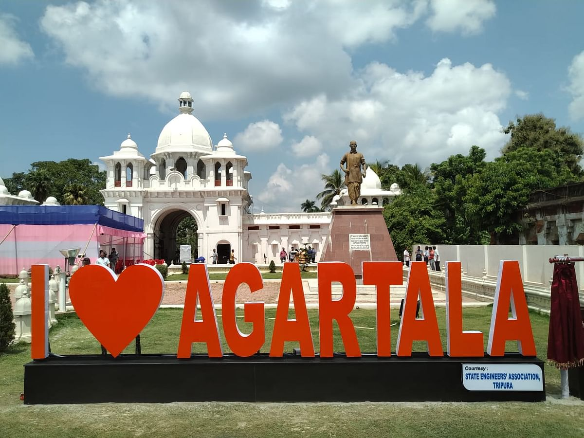 Tripura: Now, 'selfie points' with 'love' signages to woo tourists