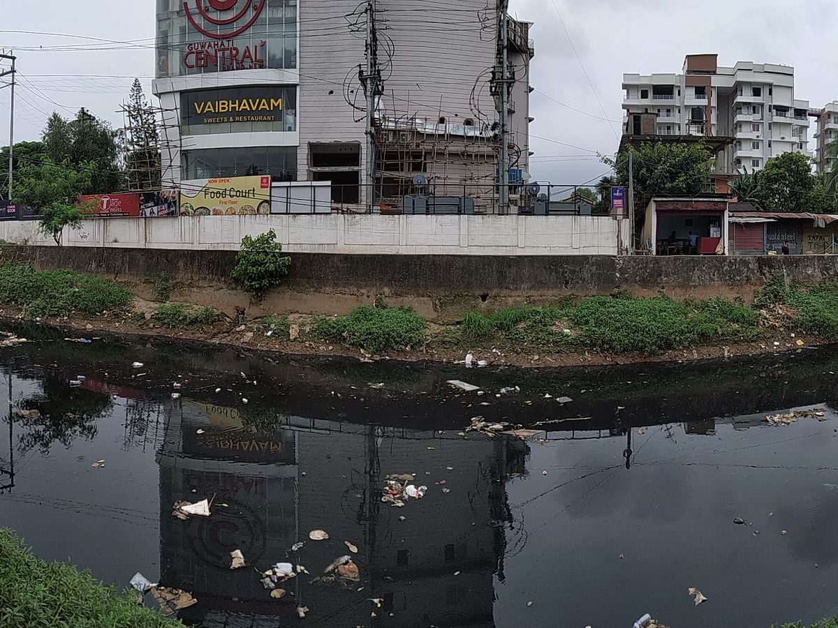 Assam: And dirty flows the Bharalu through the heart of Guwahati