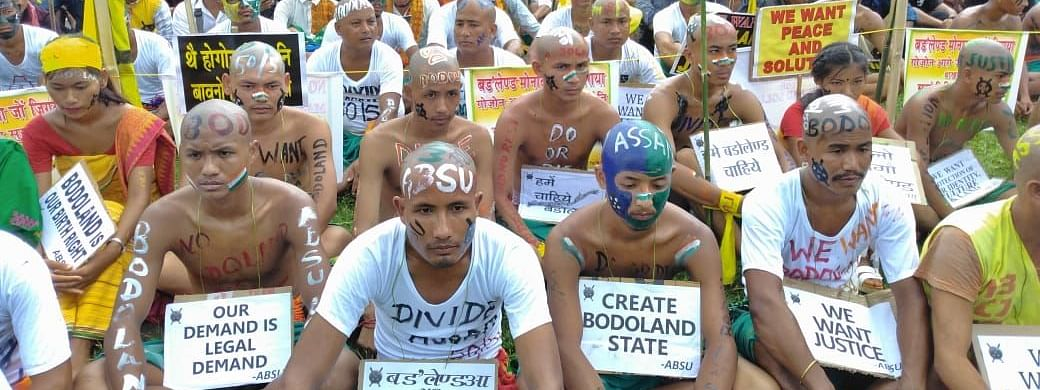 The Bodo community of Assam has been seeking the creation of a Bodoland state for several decades now