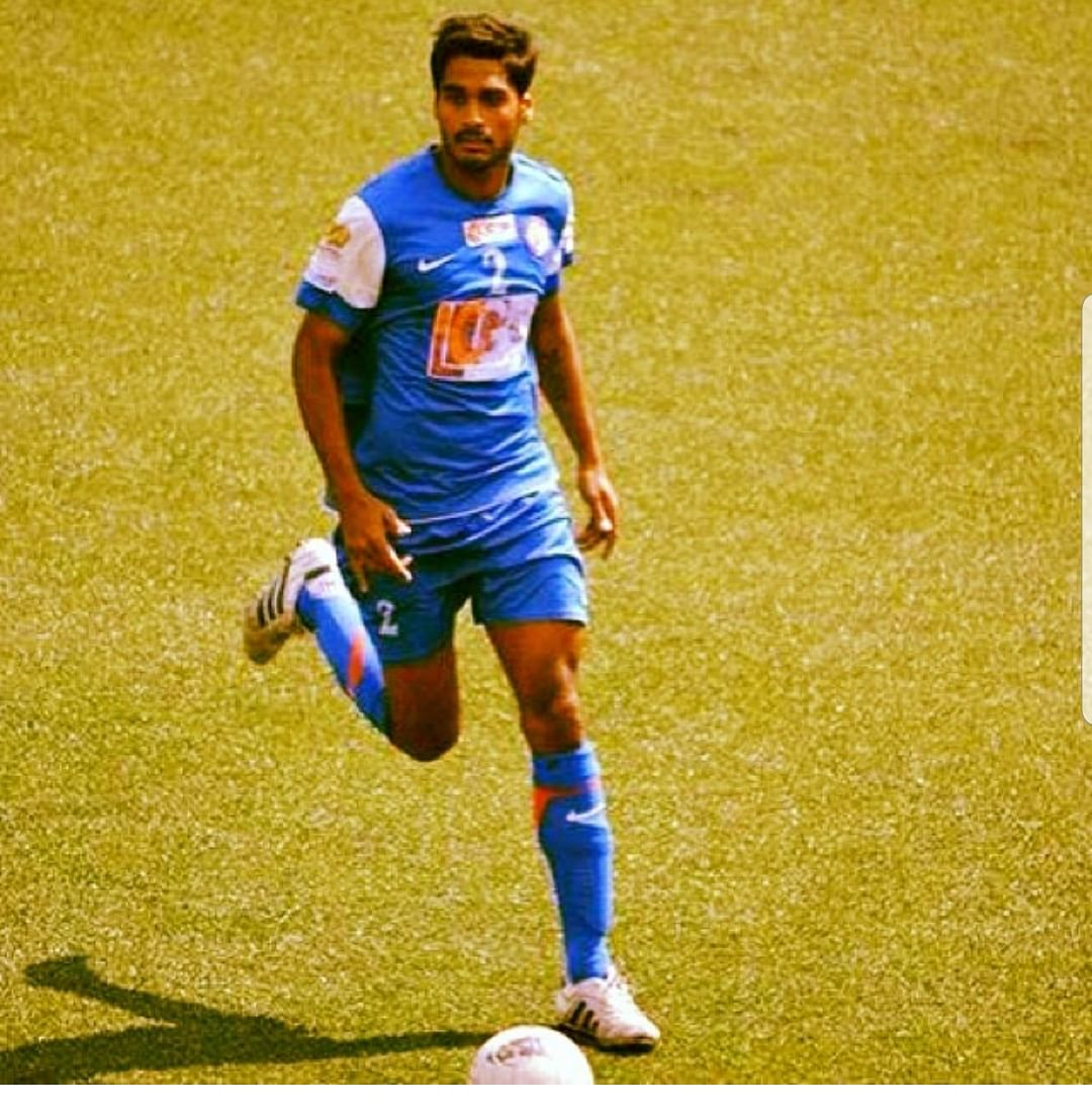 Sandesh Jhingan in action during his USFC days