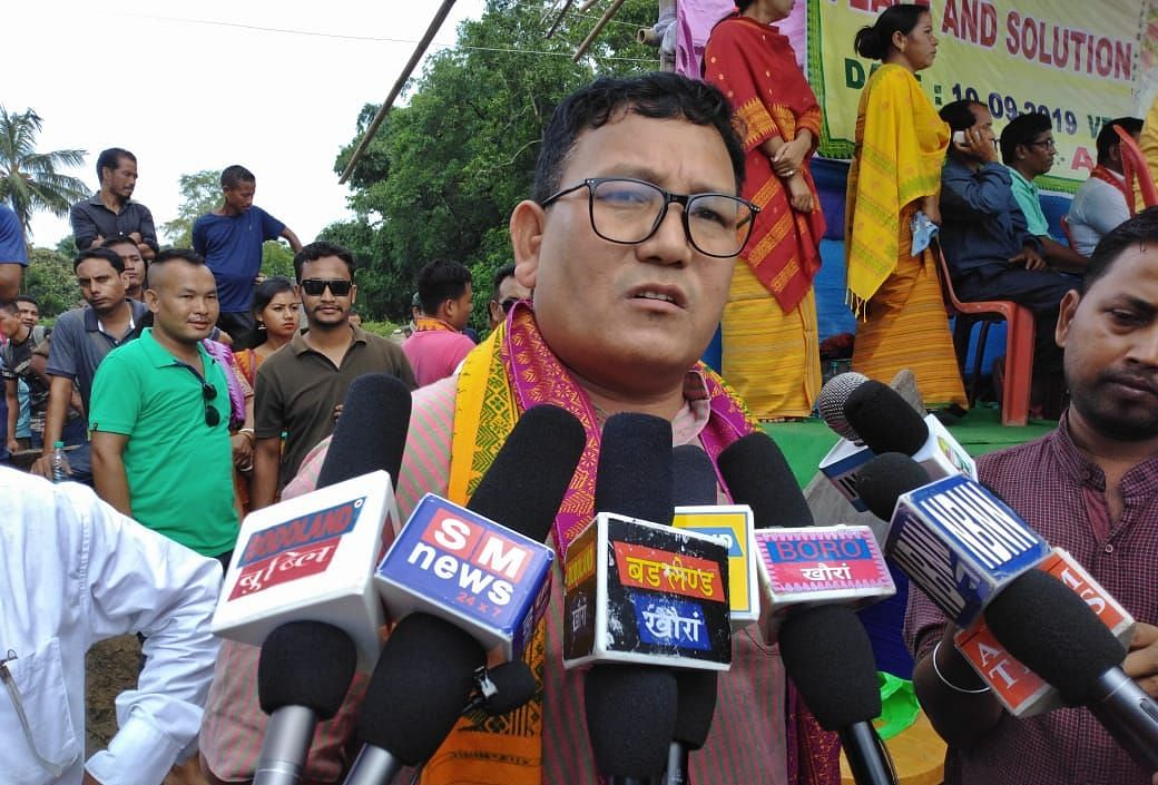 ABSU president Pramod Boro said Bodos are always ready for carrying out mass agitations in support of Bodoland statehood