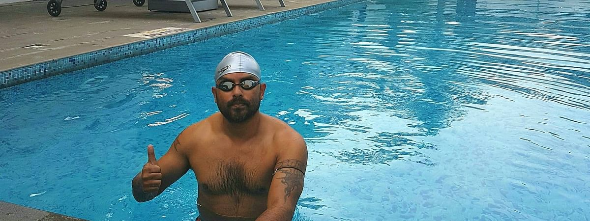 Ace swimmer Elvis Ali Hazarika is going to spread awareness about saving the one-horned rhino