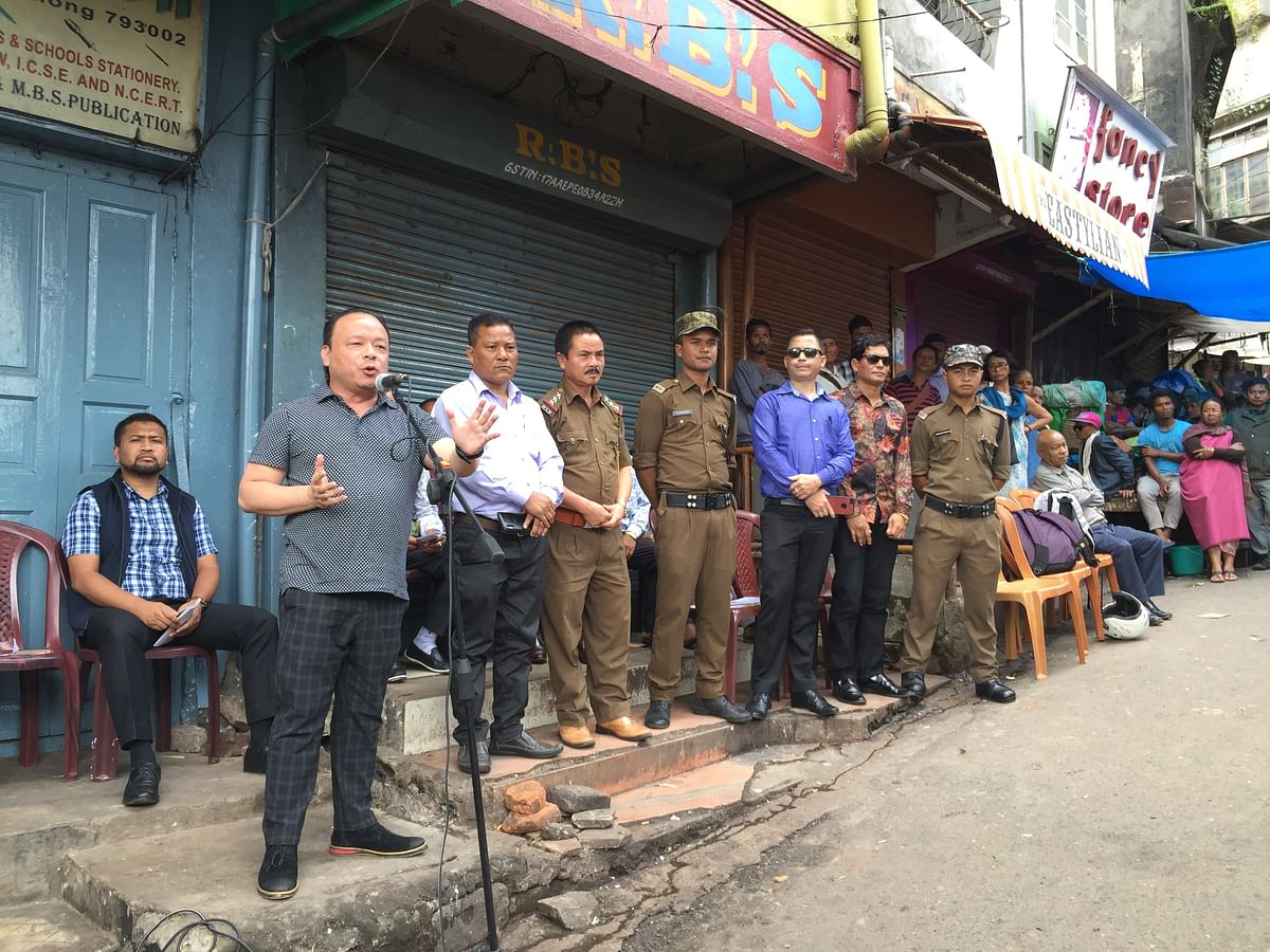 The move to impose plastic ban in Bara Bazar in Shillong, Meghalaya was initiated to promote the use of 'Sla' (leaves), which is popularly used by the locals in the state