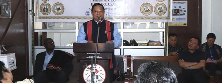 Mizoram health and family welfare minister R Lalthangliana inaugurating the third wellness centre in the state