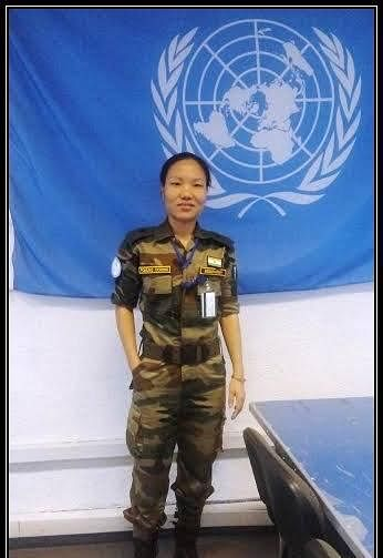Ponung Doming was a member of the United Nations Peacekeeping Mission in Congo